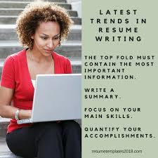 Definitive Guide On Latest Trends In Resume Writing Resume