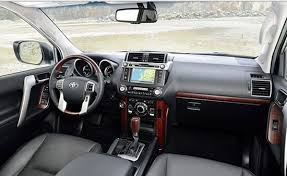 2018 toyota prado interior. simple interior 20172018 toyota land cruiser prado australia interior design with new  shift knob in 2018 toyota prado interior