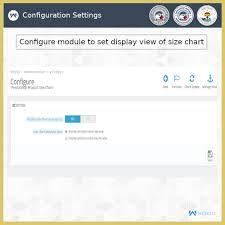 Attribute Chart Product Size Chart Module