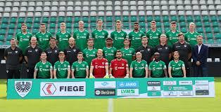 The football team currently plays in regionalliga west which is the fourth tier in german football. Kader Des Sc Preussen Munster Regionalliga 2020 2021 100prozentmeinscp