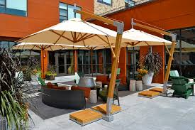 restaurant cafe umbrellas