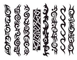 флэши в стиле трайбл татуировки Tattoo