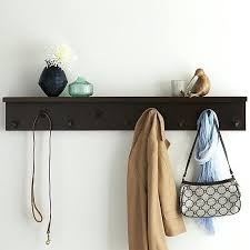 Crate And Barrel Wall Mounted Coat Rack Wall Mounted Coat Hooks With Shelf Sgmunclub 4