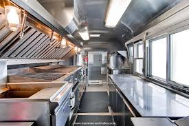 High End Kitchen In An Airstream - Commercial kitchen