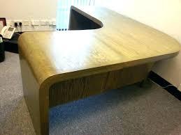 Curved Office Desk Elegant Geoocean Org With Regard To 0