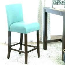 blue bar stool leather stools teal navy33