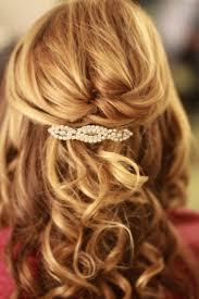 Rychlý Středně Dlouhé Vlasy Svatební účesy Půl Až Polovinu Dolů