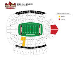 student ticket seating maps