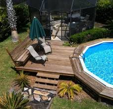 Build up the edges at least 2 feet out with a gradual slope. 2021 Above Ground Pool Prices And Installation Costs Homeadvisor