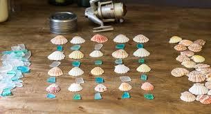 seashell seaglass windchime materials
