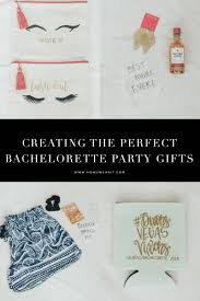 how to plan the best vegas bachelorette party part 1 the gifts
