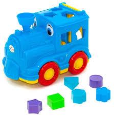 <b>Сортер Orion Toys</b> Паровозик Кукушка — купить по выгодной ...