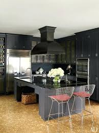 black kitchen countertops black to inspire your kitchen renovation black kitchen cabinets with white marble countertops