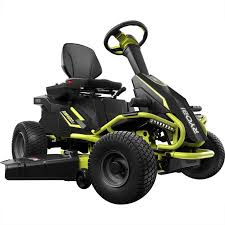 17 best ideas about electric riding lawn mower lawn ryobi rm480e 38 in battery electric riding lawn mower