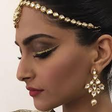indian weeding makeup looks indian wedding buzz sonam