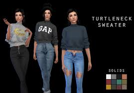 Sweaters Downloads - The Sims 4 Catalog