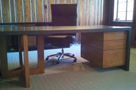 custom wood office furniture. Custom Corner Office Desk By Paul Rene Furniture And Cabinetry Phoenix-scottsdale Az Wood