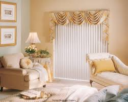 Curtain Valances For Bedroom Valances And Swags For Sliding Glass Doors With Vertical Blinds