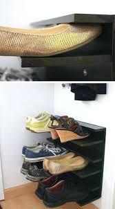 diy shoe rack ideas wall mounted plans outdoor