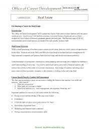 Real Estate Agent Job Cover Letter Lv Crelegant Com