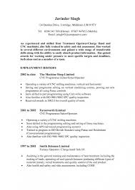 Machine Operator Resume Sample Best Cnc Mac Trend Cnc Machine Operator Resume Sample Free Career 26