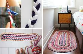 how to make the easiest braided t shirt rug
