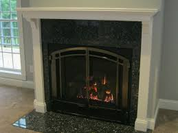 image of cast iron fireplace doors ideas