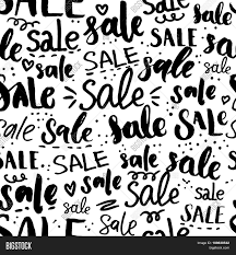 sale word sale word pattern hand drawn vector photo bigstock
