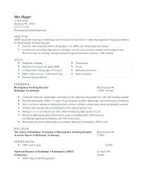 Radiologic Technologist Resume Cover Letter Sample Cover Letter For Awesome Resume For Radiologic Technologist