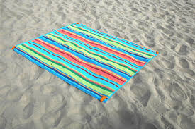 beach towel on beach. Simple Towel McKay 6u20ac Secure Hold Beach Towel Stakes For Sand MultiPurpose  Traveling Tool For On