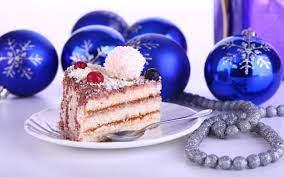 Christmas Cake HD desktop wallpaper ...