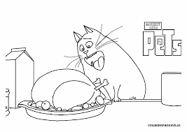The Secret Life Of Pets Coloring Pages - GetColoringPages.com