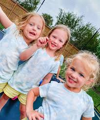 Ava, Riley and Parker in 2020 | Busby family, Busby quintuplets, Busby