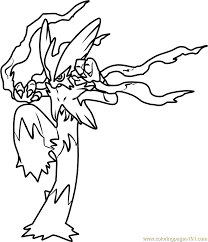 Small Picture Mega Blaziken Pokemon Coloring Page Free Pokmon Coloring Pages