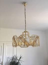 Vintage Lampenschirm Gold