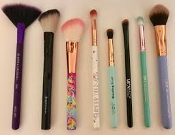 reviewipsy makeup brush collection