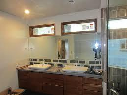 custom bathroom lighting. plain custom custom mirror with lighting cutouts on bathroom