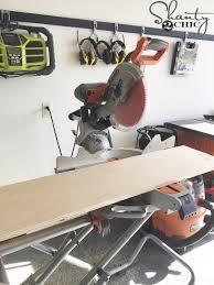 sliding barn door nightstand