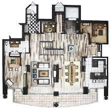 interior design floor plan sketches. Love This Colored Floor Plan!/ Hand Rendering And Fine Art By Rhianna Poer Interior Design Plan Sketches A