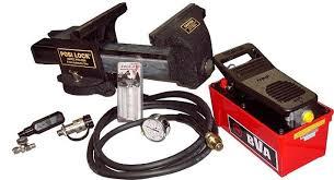 Posilock PHV859A Hydraulic ViseHydraulic Bench Vise
