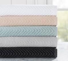 chevron sculpted towels