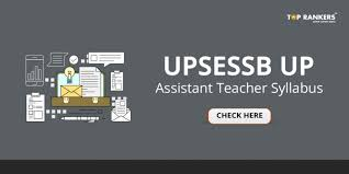 Teacher Syllabus Up Assistant Teacher Syllabus By Upsessb Download Free Pdf