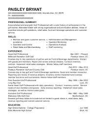 golf professional resume best head golf professional resumes resumehelp