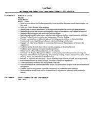 scrum master resume sample scrum master resume