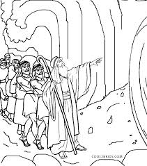 Free Printable Moses Coloring Pages Nip Laceaorg