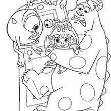 Monsters Inc Coloring Pages 26 Free Disney Printables For Kids