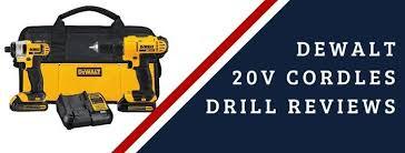 Dewalt Battery Comparison Chart Best Dewalt 20v Cordless Drill Set 2019 Combo Hammer