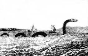 sea serpent drawings. Unique Sea An Early Drawing Of The Sea Serpent Off Cape Ann Throughout Sea Serpent Drawings
