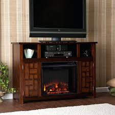 rustic electric fireplace stand slimline insert ef28 heater ef 28
