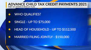 Advance child tax credit payments begin ...